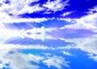 背景の練習~空の画像模写