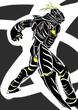 『頂き物』黒き虎