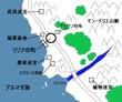 リリアの町周辺地図