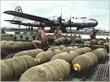 B-29補給中
