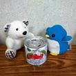 アデリーとギンガムとさくらんぼ缶