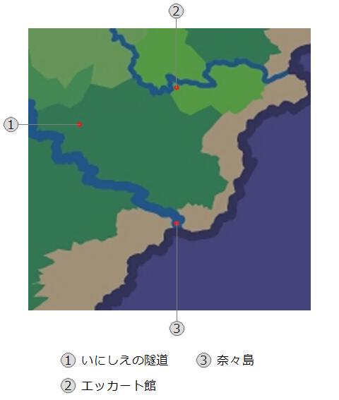 天廻の媛~僕らのマイペース異世界体験記~地図1