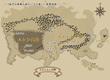 「妖刀の末裔と緋のソウマ使い」世界地図