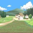 タナベックス族の村のニンジン畑 (バミサパテンナ様・画)