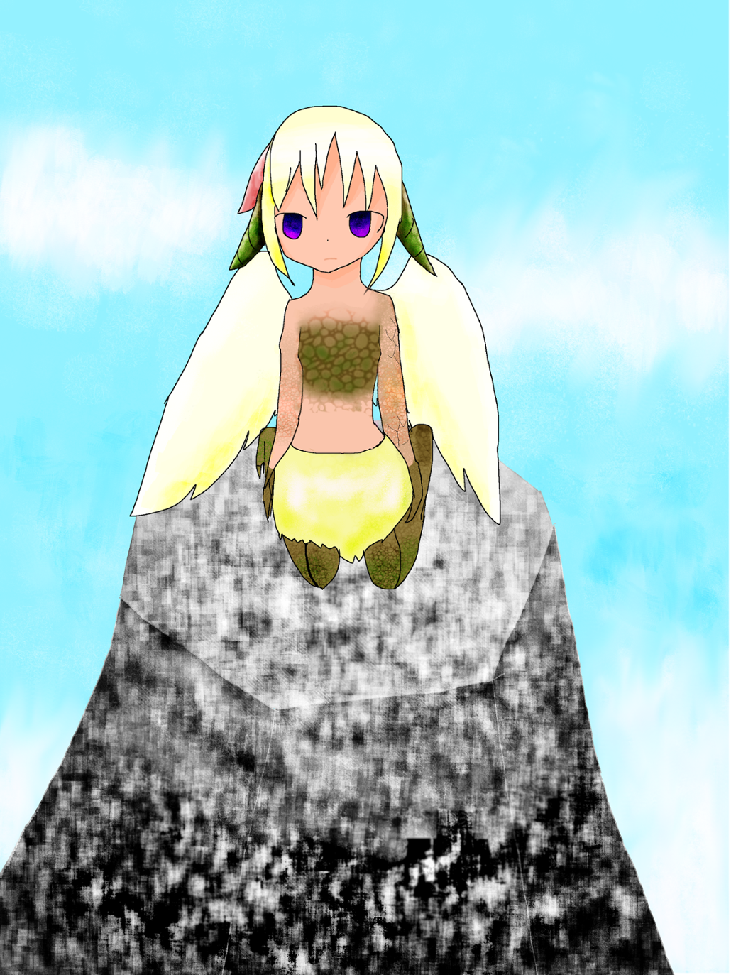 氷晶雲様 はね・恐竜・幼女