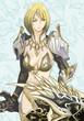 GIF女の剣士拡大