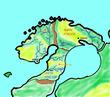 北欧地方 地図