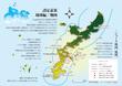 「異世界単騎行」琉球編の地図