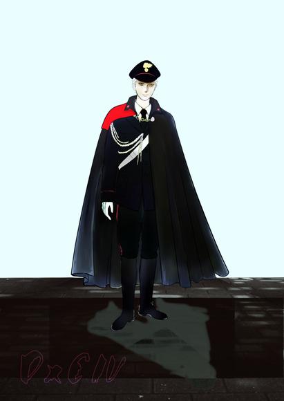 【線×色Ⅳ】ペン銀子様の線画