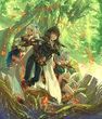 呪印の女剣士第2巻表紙
