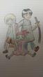 『泣き虫の魔女』より、左から順にトンビ、コマドリ、ハヤブサ