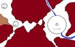 斜陽の帝国復興期・ウィンドボナ周辺図