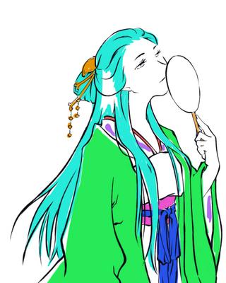 【線×色】線画03(一部塗り分け)