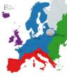 各勢力図(ヨーロッパ)