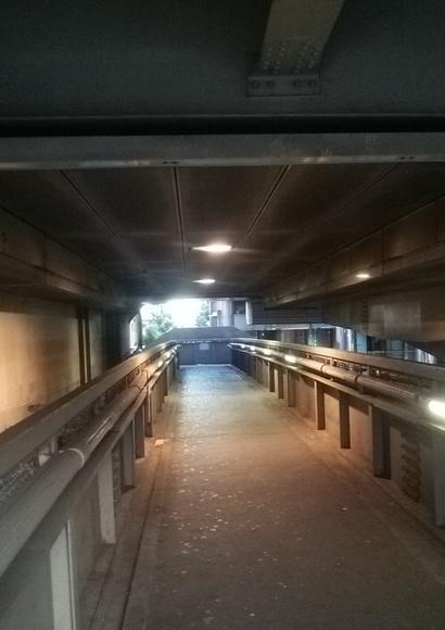 『ゴミコレ』の舞台となった歩道橋