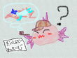 『みずうみのうみの船』12話の挿絵