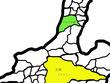 ドライアド王国の地図