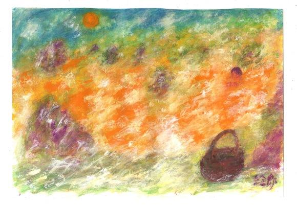 ファンアート「プリンの風呂」