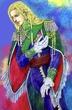 「女大公カイエン」より、ザイオン第三王子トリスタン