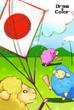 【線画×彩色◆コラボ祭Ⅱ】ごんたろう様