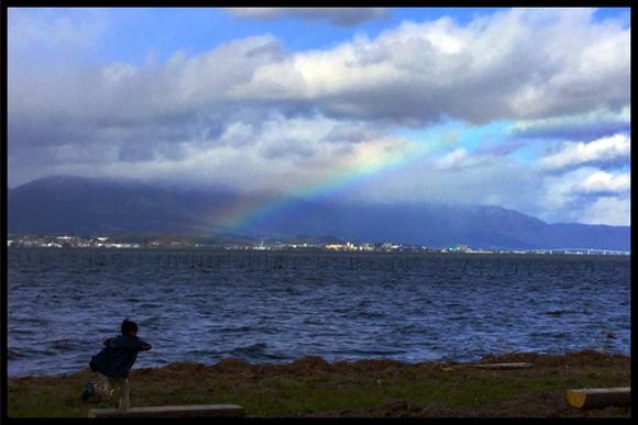 【虹を追いかける】