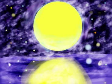 氷晶雲様 月・星・海