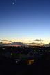箒星(ほうきぼし)のような飛行機雲