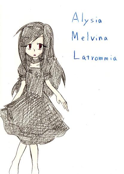 Alysia M. Latrommia (小慶美様より)