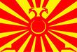 双頭の日鳳旗