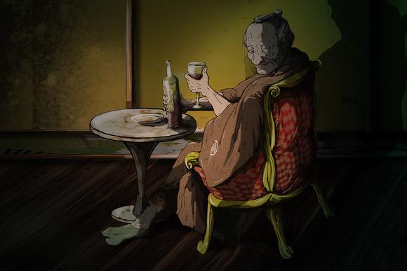 雅~ジ・アサシン~挿絵16話2