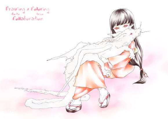 【線×色Ⅳ】たつのこ(sho-koさまの線画)