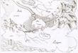 地図(色なし)