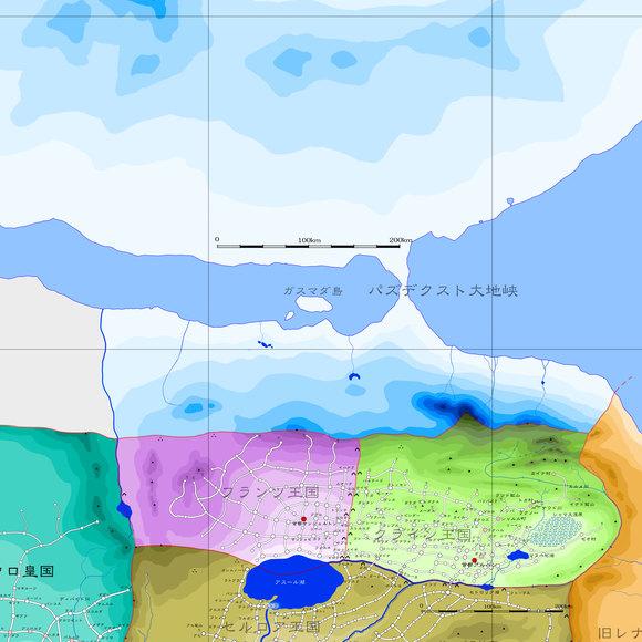 マギクラフト・マイスター16章17章関連地図