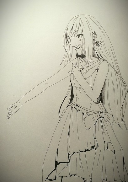 転送先の姫様(ファン絵)