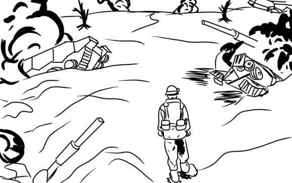 惨憺たる荒野