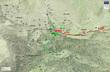 孔明第二次北伐 行軍図