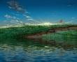 池畔の黎明