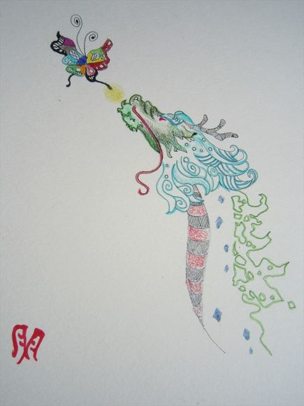 竜は蝶を追う
