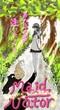 木漏れ日の少女と猫