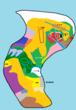 大陸地図013