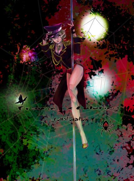 【線画×彩色◆コラボ祭Ⅲ】卯浪 糸さまの線画