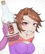 スイミンシア 酒 (餅弾頭様・画)