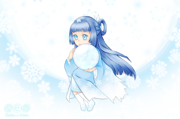 【線×色Ⅳ】「精霊」(Saikaさまの線画)