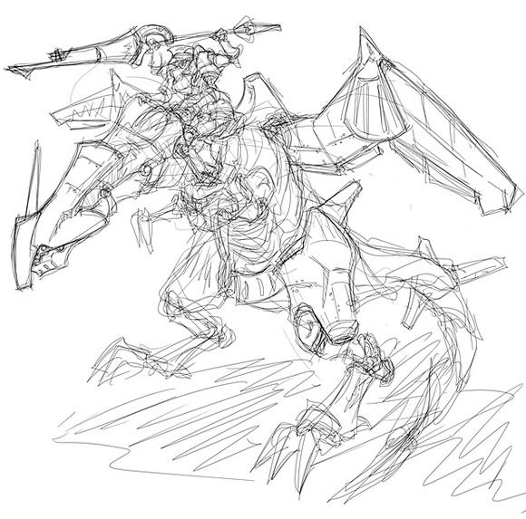 機甲竜騎士 ラフ