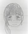 小説挿絵15-リッジラップ顔(にこっ)