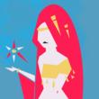 ゲームブック用:キャラクター:女魔術師