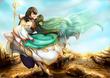 【戦場は白麟姫のしらべ】千夜と夏絶