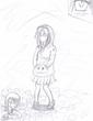 謎のパーカー少女・old11