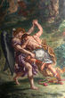 「ヤコブと天使の戦い」ドラクロワ