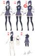 女子制服デザイン